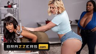 Brazzers - Crazy Hot Threesome with Jenna Foxx, Julie Cash & Maserati
