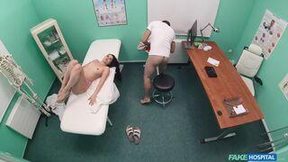 Fake Hospital - Doctor Fucks Shaven Russian Pussy