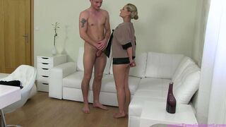 Female Agent - Don't Be Shy And Come Fuck Me!
