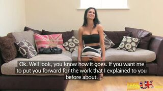Fake Agent UK - Girl With Attitude And Smoking Hot Body!