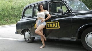 Female Fake Taxi - Time To Party in Billie's Taxi