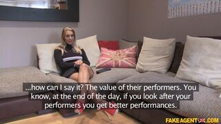 Fake Agent UK - Minx Gives Deepthroat and Rimming