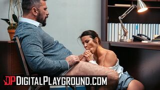 Digital Playground - Hot Busty Alexis Fawx Ride her Boss Dick