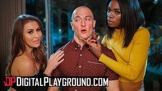 Digital Playground - Ebony Ana Foxxx Gets a Helping Hand from Paige Owens