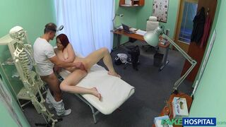 Fake Hospital - Redheads Are Crazy Patients - That's Fact!