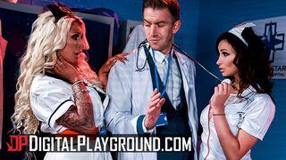 Digital Playground - Lesbian Nurses Alyssia Kent, Brooklyn Blue
