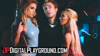 Digital Playground - Kenzie Reeves & Giselle Palmer Share Dude in the Shower