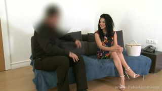 Fake Agent - Romanian Girl Doing Her Magic On Casting