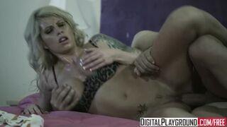 Digital Playground - Busty Blonde Brooke Haven,New Dad in Town, Ben English