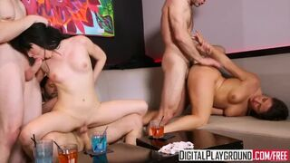 Digital Playground - Infidelity, Scene 5, Night out Turns into Club Orgy