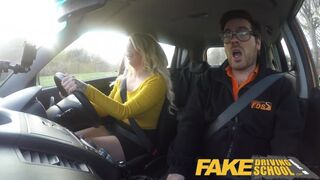 Fake Driving School - Louise Lee Riding the Instructors Cock