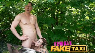 Female Fake Taxi - Daisy Lee Rides a Big Cock in her Taxi