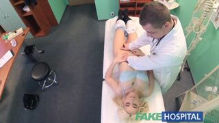 Fake Hospital - Shy Patient with Soaking Wet Pussy Squirts on Docs Fingers