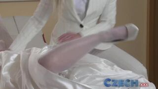 Czech XXX - Czech Young Bride changes her Mind and s with best Friend