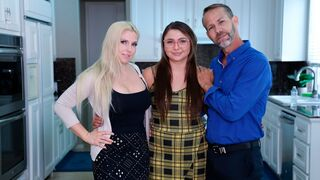 Foster Tapes - Foster Daughter Gets Physical Tutoring