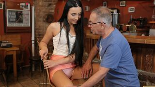 Daddy 4K - Can you trust your girlfriend leaving her alone with your father?