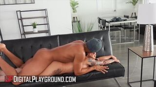 Digital Playground - Busty Payton Preslee Rubs her Wet Pussy before Ricky Johnson gives her his BBC