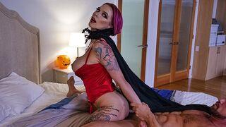 Mylf - Horny Vampire MILF Anna Bell Peaks Devours Big Cock on Halloween Night