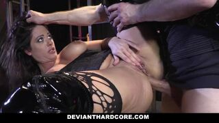 Deviant Hardcore - Busty Submissive Slut Gets Slapped and Ass Fucked
