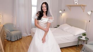 Rim 4K - Sexual surprise on his wedding day!