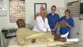 CFNM Secret - CFNM nurses have hardcore hospital room orgy