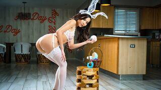 Nubile Films - Petite Brunette Vina Sky Sensual Easter BJ and Fuck