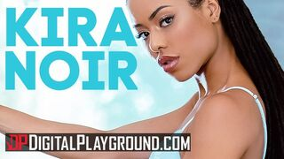Digital Playground - Small Tit Kira Noir Takes Mouth Full of Cum from Sall Hands