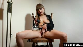 The Life Erotic - Sexy Girl uses a Pussy Pump until it makes her Squirt everywhere