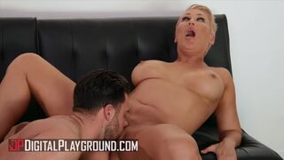 Digital Playground - Sexy Busty MILF Ryan Keely Cheats on her Husband with a Younger Man