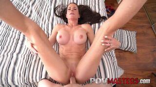 POV Masters - Athletic Busty MILF Sofie Marie Craves POV Big Cock inside
