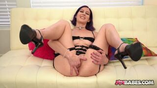 JOI Babes - Slender Babe Trixie Squirts gives JOI for Attention