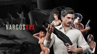 Narcos XXX - Asscobar Negotiates with a Whore