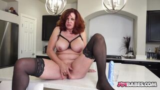 JOI Babes - Busty Wife Andi James JOI to Husband's Friend