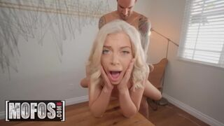 Don't Break Me - Petite Tiny Blonde Allie Nicole Gets Nude and Covered in Sushi