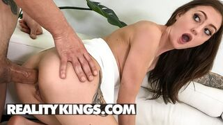 Reality Kings - Naughty Kendra Cole Gets her Ass & Pussy Fucked by Alex's Big Cock