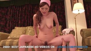 JAV HD - Aya Mikami Fucked with Toys before getting the Real Deal