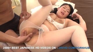 JAV HD - Pantyhose Extreem Sex with Busty Yuzu Mashiro