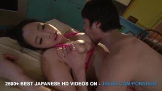 JAV HD - Mimi Aku goes Full Mode on Guy's Oiled Dick