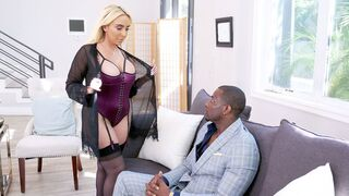 Pure Mature - Sex-loving doll with very big boobs Kylie Kingston fucked by a BBC