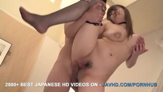 JAV HD - Satomi Nagase wants it in the Ass as well