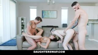 Daughter Swap - Lily Larimar, Kylie Rocket - Step Daddy Issues
