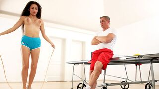 Secret Friends - Jumping rope and Sucking Cock