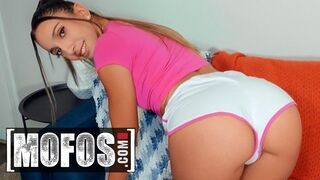 Mofos - Cute Angelica Cruz has her Bum Stretched out by her Horny Step-Dad