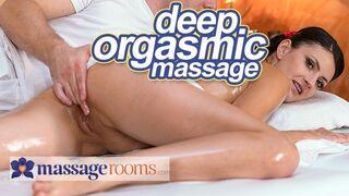 Massage Rooms - Deep Sensual Orgasms for Petite Czech Babe Tiny Tina