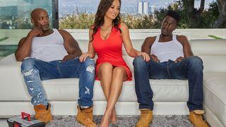 Evil Angel - MILF Lisa Ann's Interracial Threesome