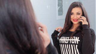 OyeLoca - Lusty Latina model Susy Gala penetrated in the sideways pose