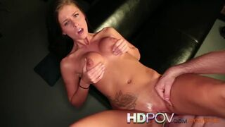 HDPOV - Big Natural Tits Cums on your Cock