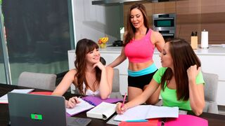 Moms Lick Teens - Jenna Sativa and Kendra Lust are enjoying lesbian sex so much