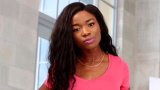 Round and Brown - Small-tit ebony model Mya Mays fucked by a white penis
