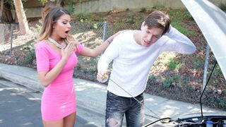 MILF Hunter - Glamorous mademoiselle Brooklyn Chase fucked by a young man